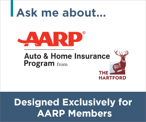 ask me about AARP Auto & Home Insurance